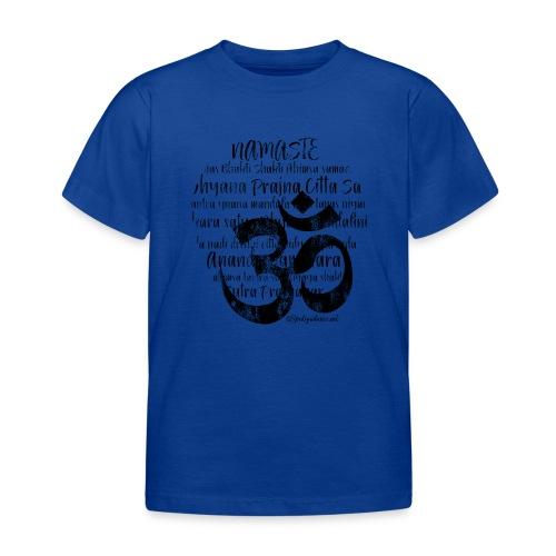 OM - Namaste black rugged - Kinder T-Shirt