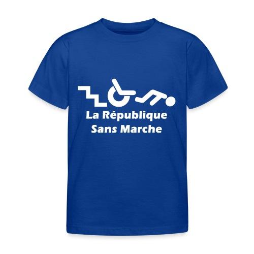 La République Sans Marche - Blanc - T-shirt Enfant