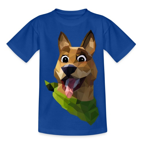 LOW POLY DOGO - T-shirt Enfant