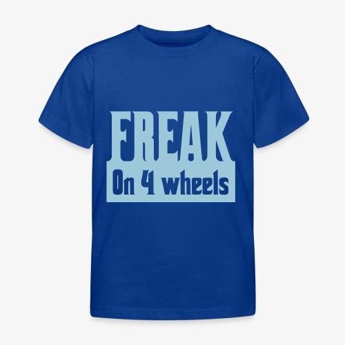 Gek op vier rolstoel wielen - Kinderen T-shirt