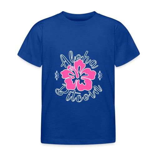 Aloha Bitcoin! - Camiseta niño