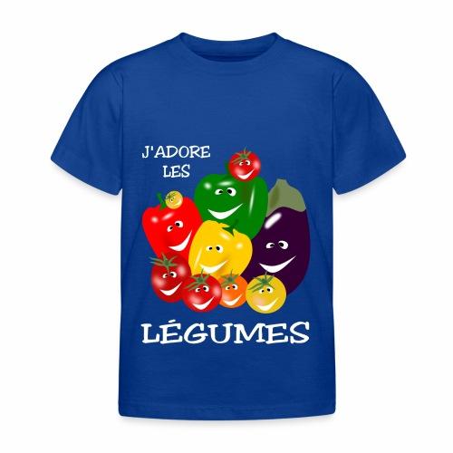 I love vegetables - Kids' T-Shirt