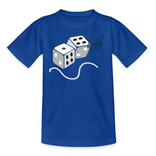 Dice - Symbols of Happiness - Kids' T-Shirt