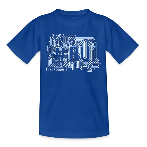 #RU - circuit board - Kinderen T-shirt