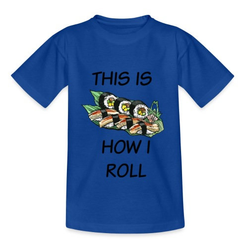 Sushi Roll - Kids' T-Shirt
