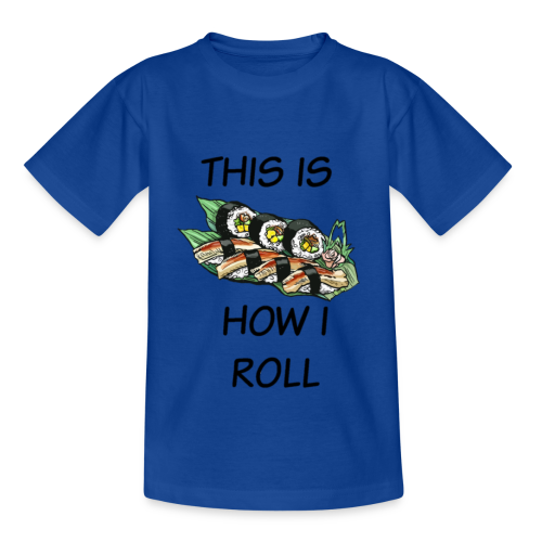 Sushi Roll - Kids' T-Shirt