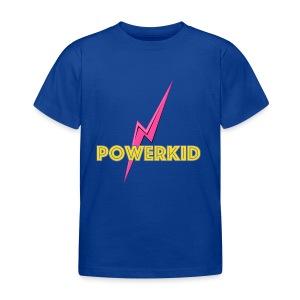 powerkid logo - Kinderen T-shirt