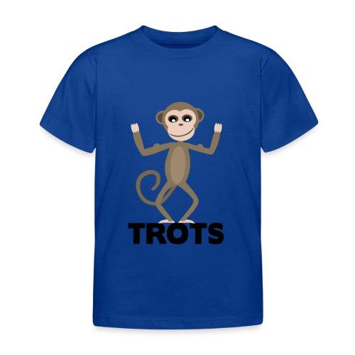 apetrots aapje wat trots is - Kinderen T-shirt