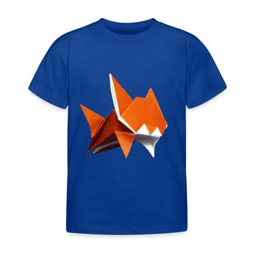 Jumping Cat Origami - Cat - Gato - Katze - Gatto - Kids' T-Shirt