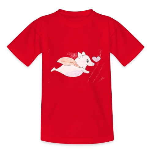 Kids for Kids: Flying Pigs - Kinder T-Shirt