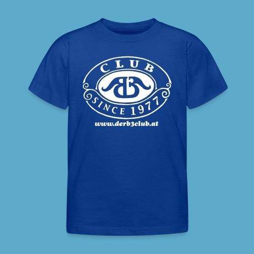 B3Club weiß groß png - Kinder T-Shirt