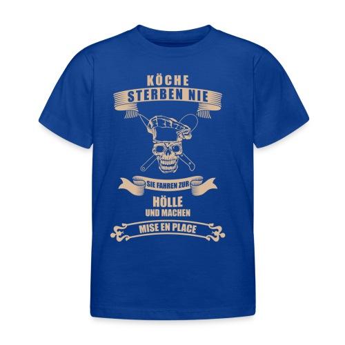 köche_shirt@0,5x_1 - Kinder T-Shirt