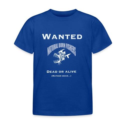 NBF Wanted - Lasten t-paita