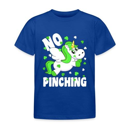 St. Patricks Day No Pinching Unicorn - Kinder T-Shirt