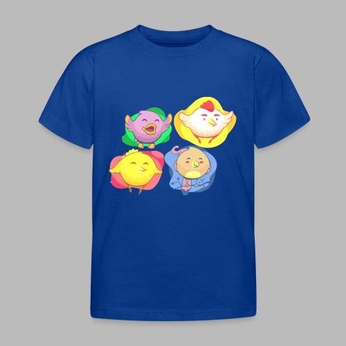 cute birds, lindas aves divertidoa - Camiseta niño