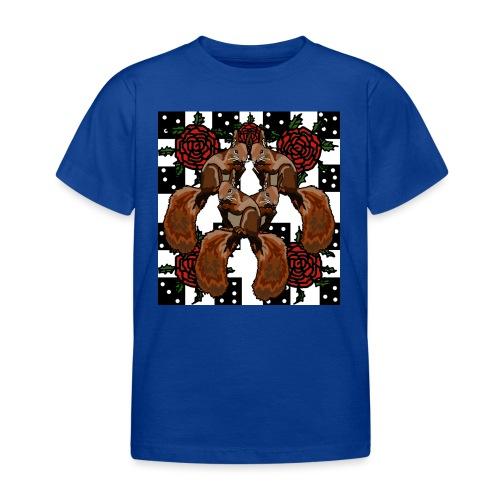 Cute Squirrels - Børne-T-shirt