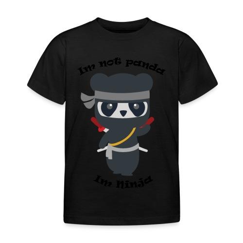 Non sono un Panda - Maglietta per bambini