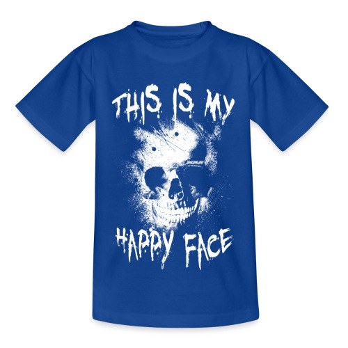 This is my happy face - Kinderen T-shirt