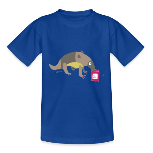 Anteater loves jam - Kids' T-Shirt
