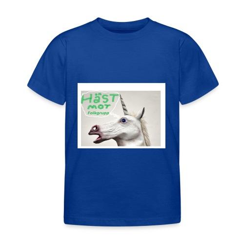 haest mot folkgrupp - T-shirt barn
