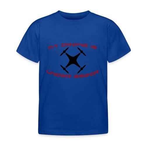 My Drone Is Under 250gr - Børne-T-shirt