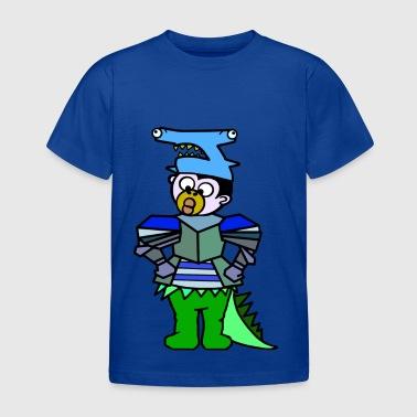 QueenKong Boy, Shark - Knights - Dino - Kids' T-Shirt