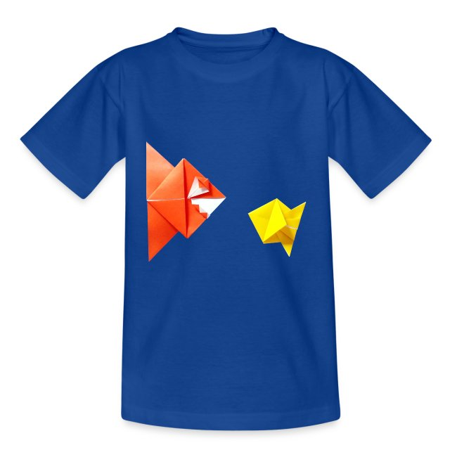 Origami Plus Tshirts Origami Origami Piranha And Fish Fish