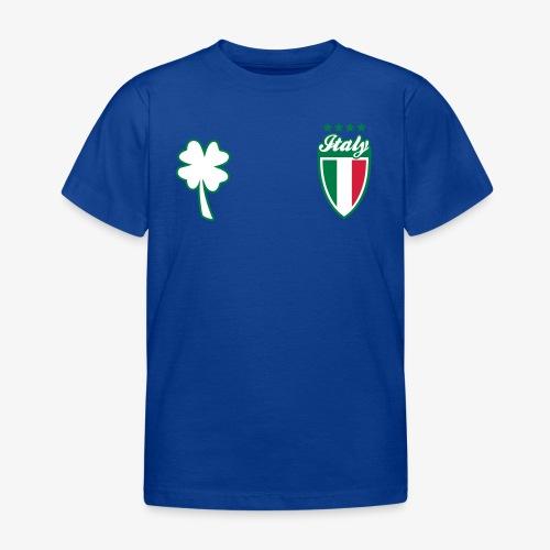 Italia Scudo e trifoglio - Maglietta per bambini