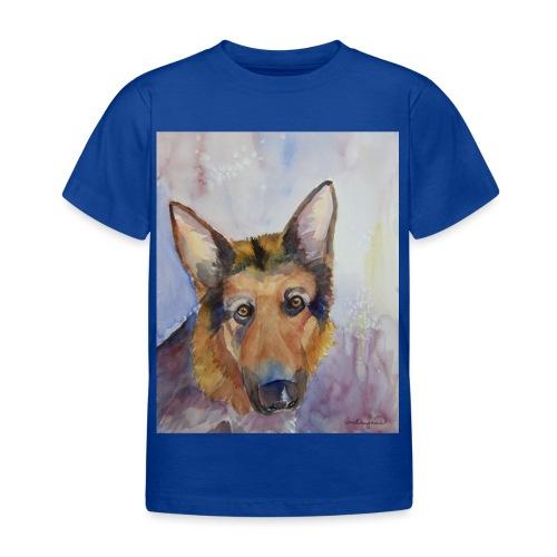 german shepherd wc - Børne-T-shirt