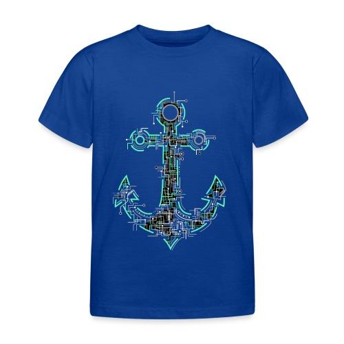 Cyber Anker Tshirt ✅ Elektro Anker Tshirt - Kinder T-Shirt
