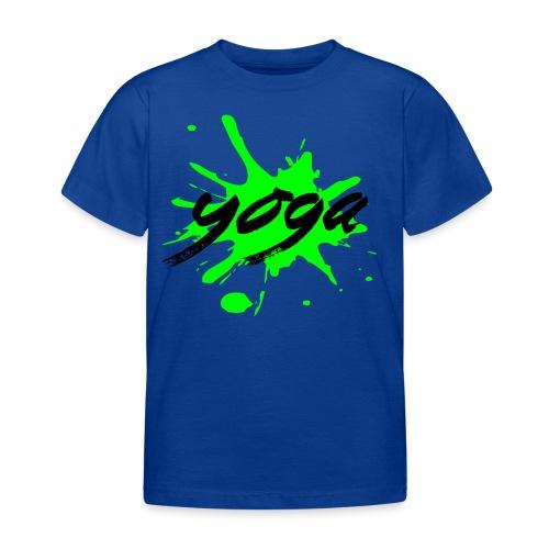 yoga verde yogi namaste pace amore arte hippie - Maglietta per bambini