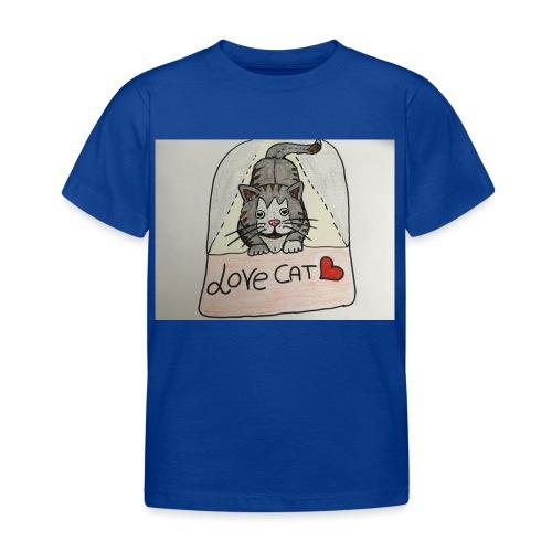 Love cat - Maglietta per bambini