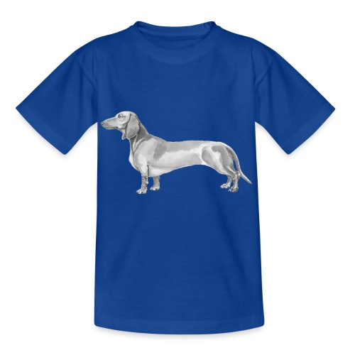 Dachshund smooth haired - Børne-T-shirt