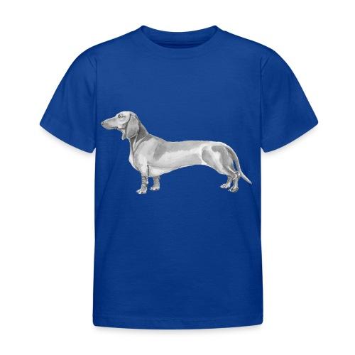 Dachshund smooth haired - Børne-T-shirt