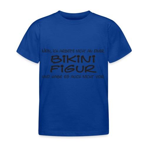 Bikinifigur01 - Kinder T-Shirt