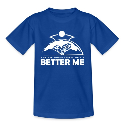 Better Me - White - Kids' T-Shirt