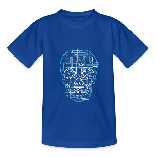 electric skull tshirt ✅ - Kinder T-Shirt