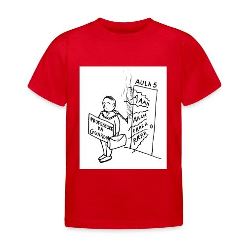 prof da guardia - Maglietta per bambini