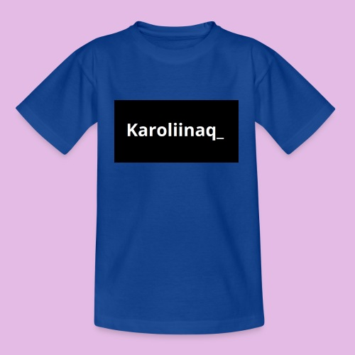 Karoliinaq_ - Lasten t-paita