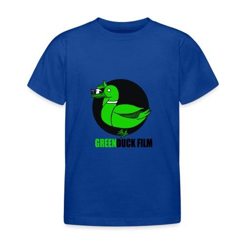 Greenduck Film Logo w. black letters - Børne-T-shirt