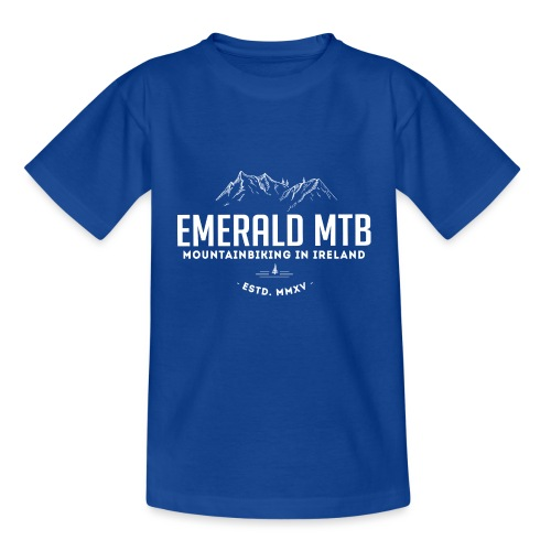 Emerald MTB logo - Kids' T-Shirt