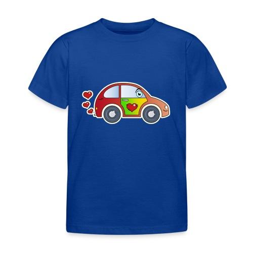 Kids Car Spielzeugauto Herzen bunt fröhlich Kinder - Kids' T-Shirt