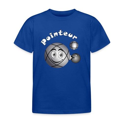 t shirt pétanque pointeur boule existe en tireur B - T-shirt Enfant