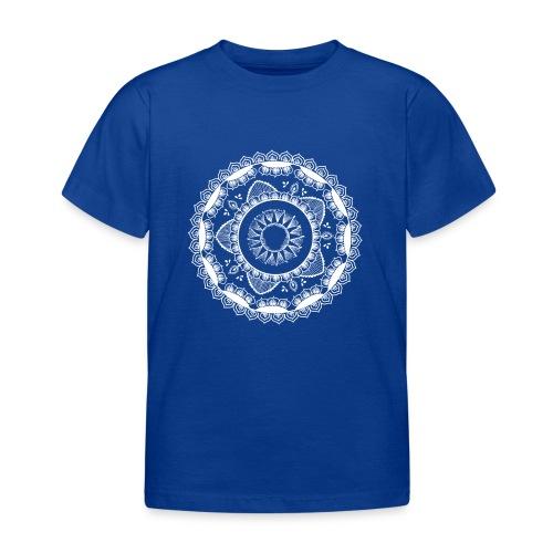 Yoga mandala for Sun salutations - T-skjorte for barn