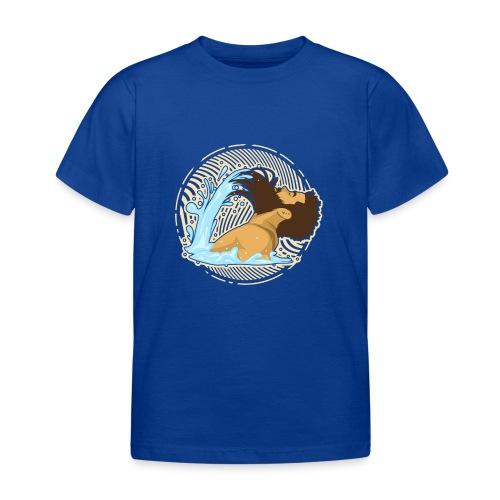 Bart Welle - lustiges Geschenk für Männer mit Bart - Kinder T-Shirt