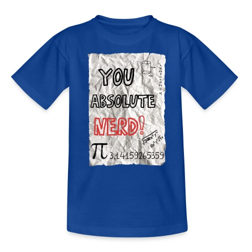 You absolute nerd copy png - Kids' T-Shirt