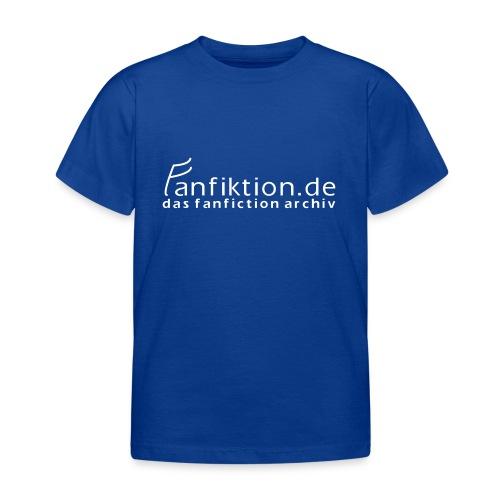 FanFiktion de Schriftzug - Kinder T-Shirt