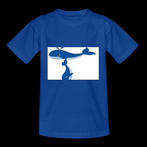 whale t - Kids' T-Shirt