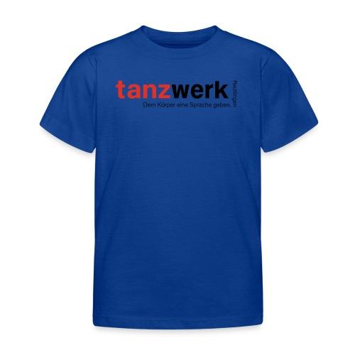 Tanzwerk - Premium Edition schwarz - Kinder T-Shirt