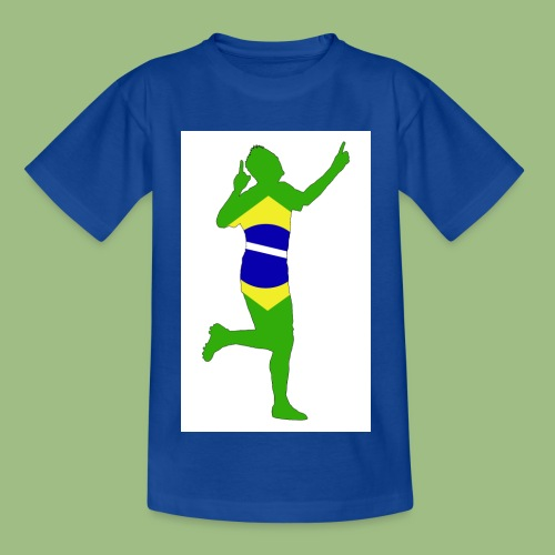 Neymár Brazil - T-shirt barn